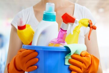 How to Properly Store Household Chemical Products